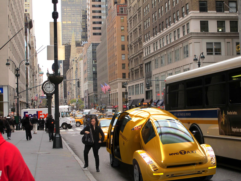 New York City Needs an Iconic Taxi.